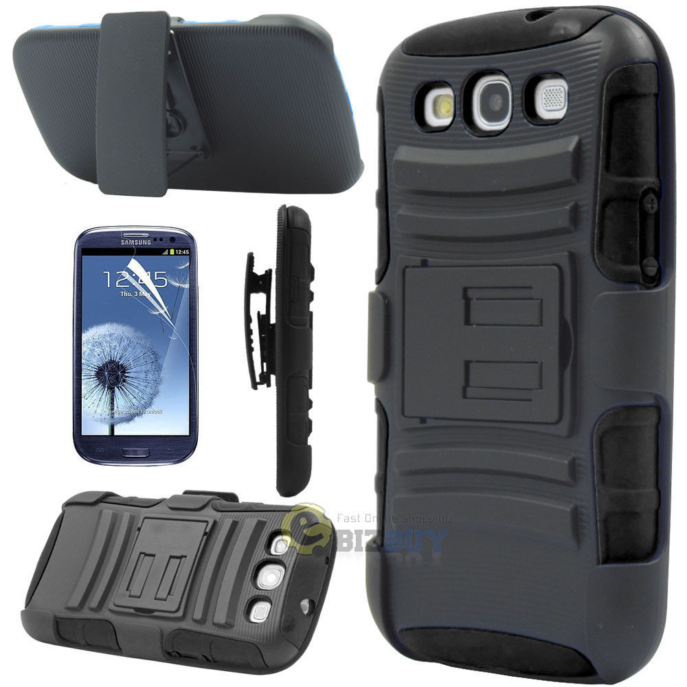 For Samsung Galaxy S3 SIII i9300 Case Cover Future Armor Holster Protector Combo(China (Mainland))