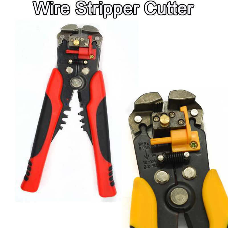 2014 New Arrival Multifunctional Automatic Cable Wire Stripper Crimping Plier Self Adjusting Crimper Terminal Tool Durable(China (Mainland))