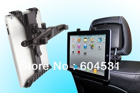 Car Headrest Mount for iPads Tablet PC Backrest Mounting,1Pcs/Lot Free Shipping