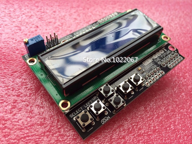 how to connect a 1602 display to arduino uno