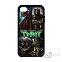 For iphone 4/4s 5/5s 5c SE 6/6s plus ipod touch 4/5/6 back skins mobile cellphone cases cover TMNT Ninja Turtles