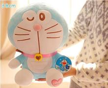 38cm Anime Cartoon Cute Doraemon plush toys Japanese anime Doraemon Cat Plush Toys For Children's Gift ,3 styles