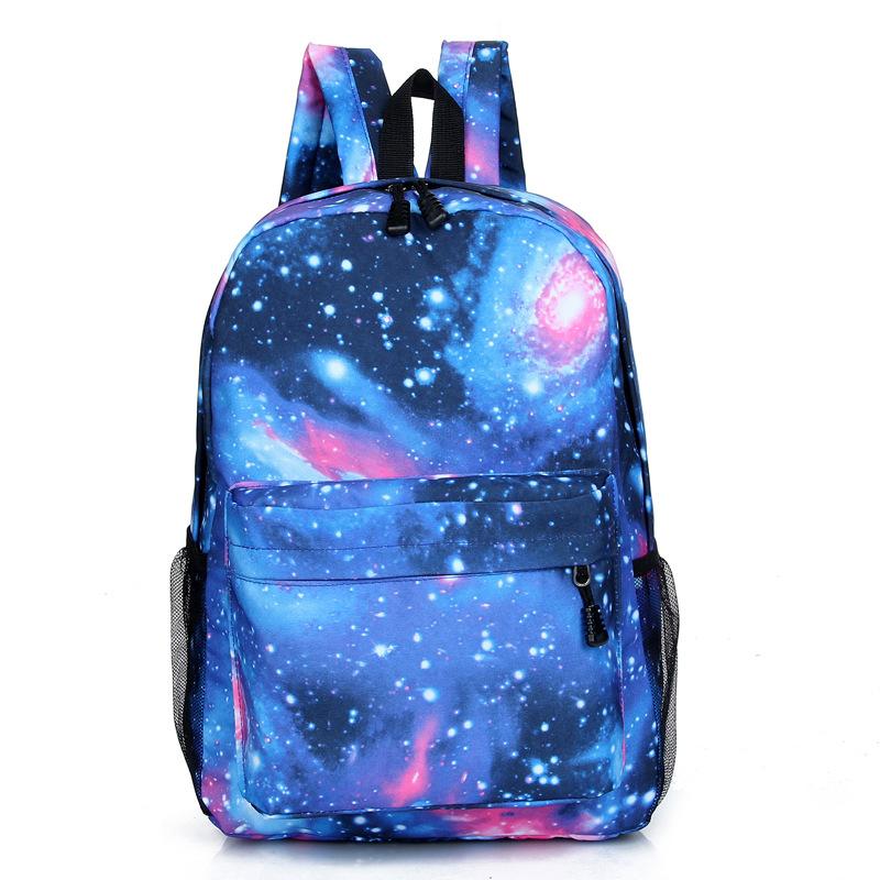 Рюкзак для девочек с рисунком космоса