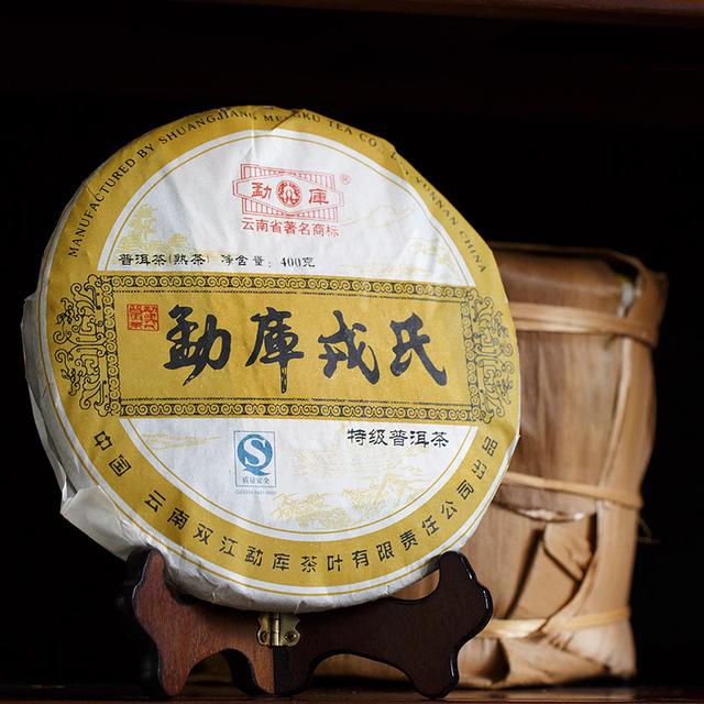 GRANDNESS 2006 yr 100 Real Yunnan Shuangjiang Mengku Rongsi Tea factory Best Ripe shu puer