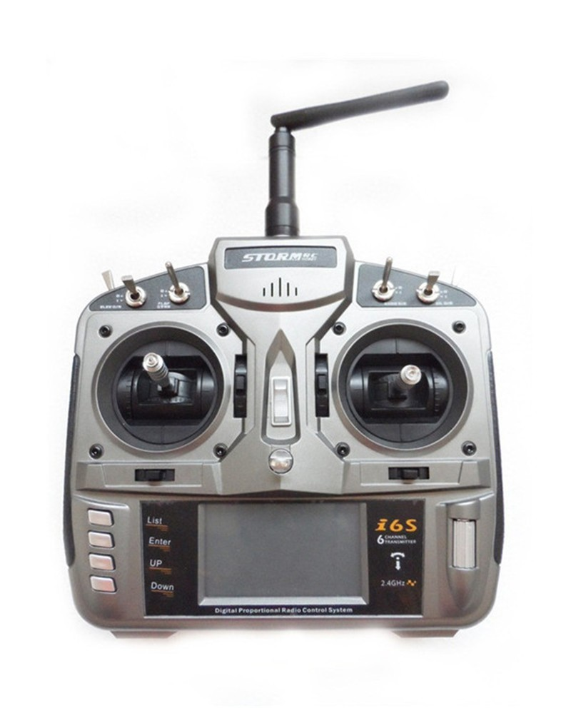 Full Range 2.4GHz i6s 6CH RC Radio Transmitter with S600 receiver RC RADIO CONTROL better PK DX6i(China (Mainland))