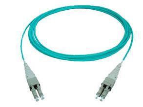 SENKO Optical Fiber Patch Cord LC/OM3-LC/OM3 MM duplex core LSZH 3.0mm 3M Fiber Optic Jumper(China (Mainland))