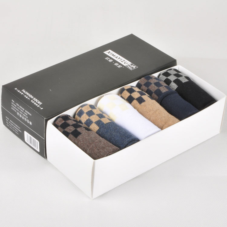 Men's gift socks cotton socks boxed gift box board(China (Mainland))