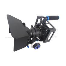 Handheld DSLR Rig Camera Cage Set Follow Focus Matte Box for Canon 5D2 5D3 6D 7D 60D 70D 5D Film Making Photo Studio Accessories