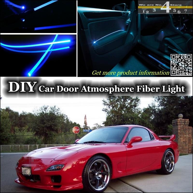 Mazda Savanna RX7 RX-7 RX 7 FC FD interior Ambient Light Tuning Atmosphere Fiber Optic Band Lights Door Panel illumination