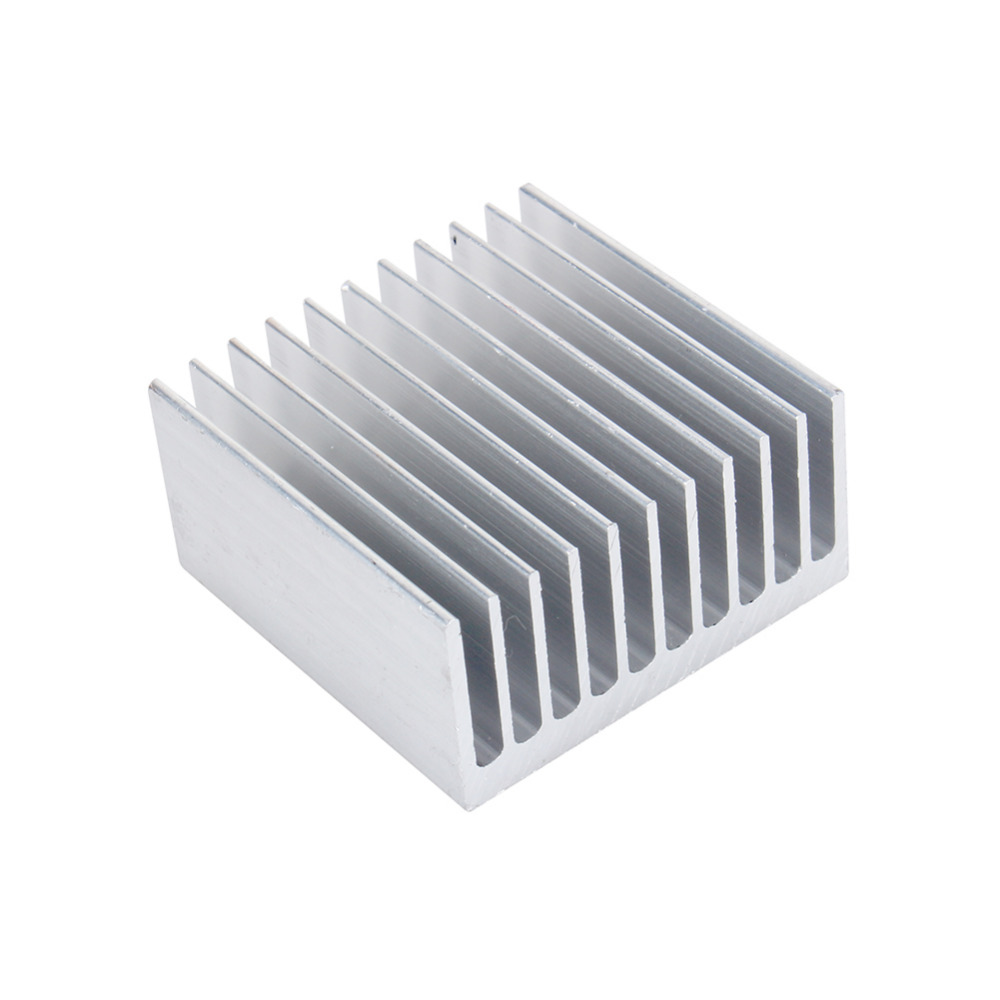 Cooling Accessories White Color Heat Sink 40x40x20mm Ic