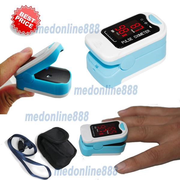 LED Fingertip Pulse Oximeter, Spo2 Monitor,Carry Case,Lanyard,HOT SALE CMS50M(China (Mainland))
