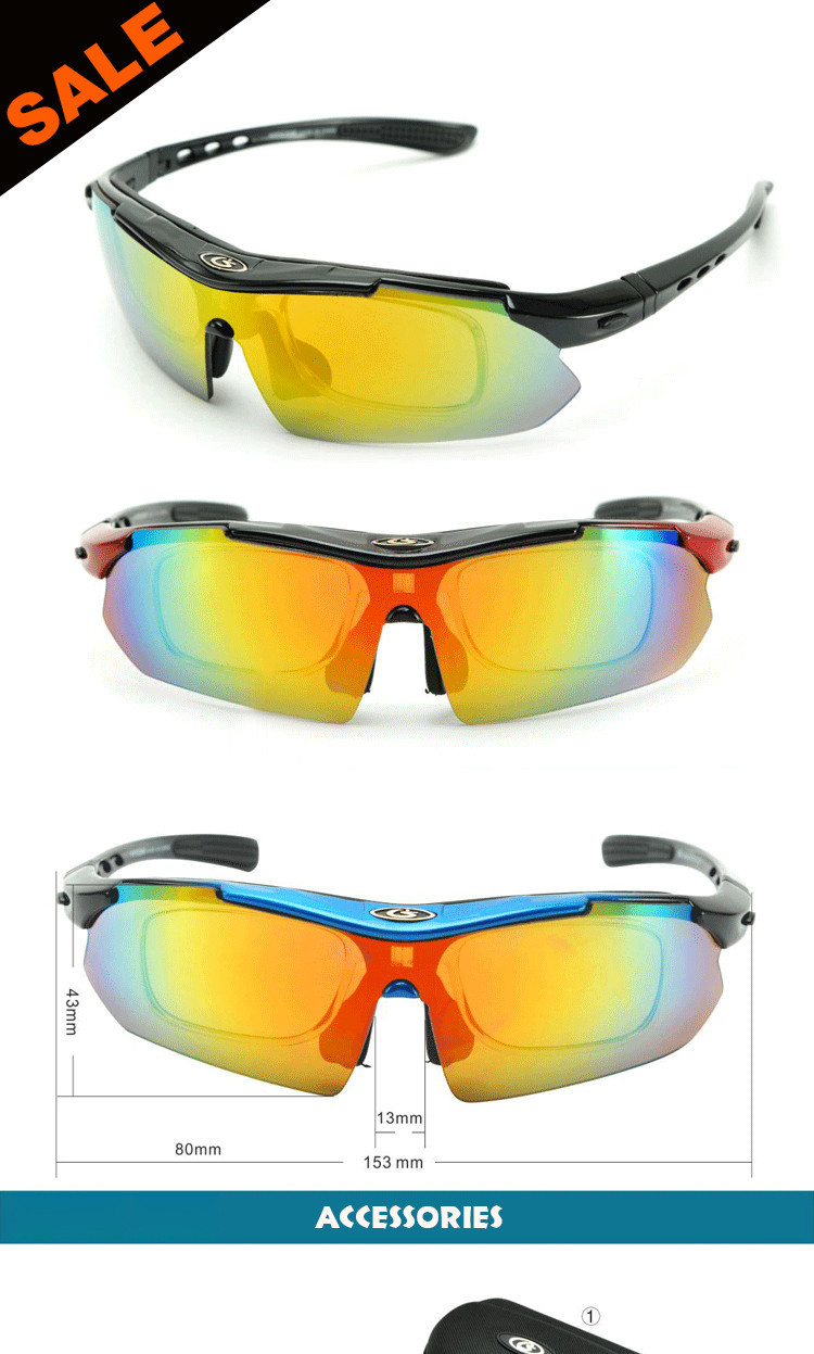 Best Sports Cycling Eyewear Professional Men Women UV400 Polarized