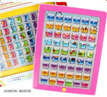 Child Number and Word Learning Pad Toy English Edition ABC Educational Y Pad Toy Learning Book(China (Mainland))