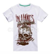 Buy 15 designs vintage Flames Rock Brand shirt skateboard mma 3D crow skull Bone fitness Hardrock heavy Metal Cotton for $24.99 in AliExpress store
