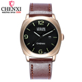 CHENXI Mens Watches Top Brand Luxury Men Military Sport Luminous Wristwatch Chronograph Leather Quartz Watch relogio