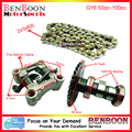 GY6 50cc Timing Chain Camshaft and Camshaft Holder 139QMB Engine Chinese Scooter Parts ATV Parts Roketa