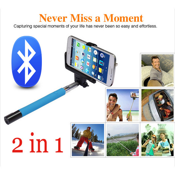 Штатив SNS Z07/5 2 1 Bluetooth Selfie iPhone IOS android/gopro M645 дистанционный спуск затвора для фотокамеры oem selfie bluetooth remoto ios android