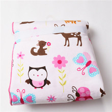 2015 High quality Cute Animal printed baby blanket newborn Wrap Super Soft Bedding Baby Nap blanket quilt  Free Shipping(China (Mainland))
