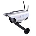 Top Sell Solar Power Fake IP surveillance camera Dummy Outdoor Security Home CCTV Camera Flashing LED