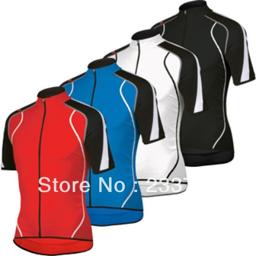 2014 4 styles sport short sleeve, red&blue&white&black, Men's summer Bike Riding Shirts, outdoor short Sleeve Cycling jersey(China (Mainland))
