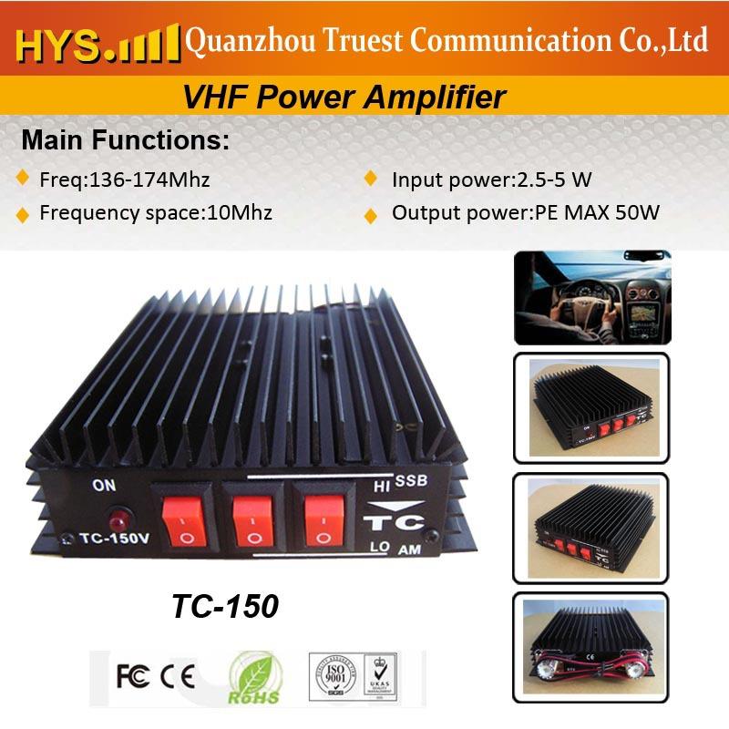 Good Performance Competitive price!Powertful VHF handheld walkie talkie amplifier TC-150(China (Mainland))