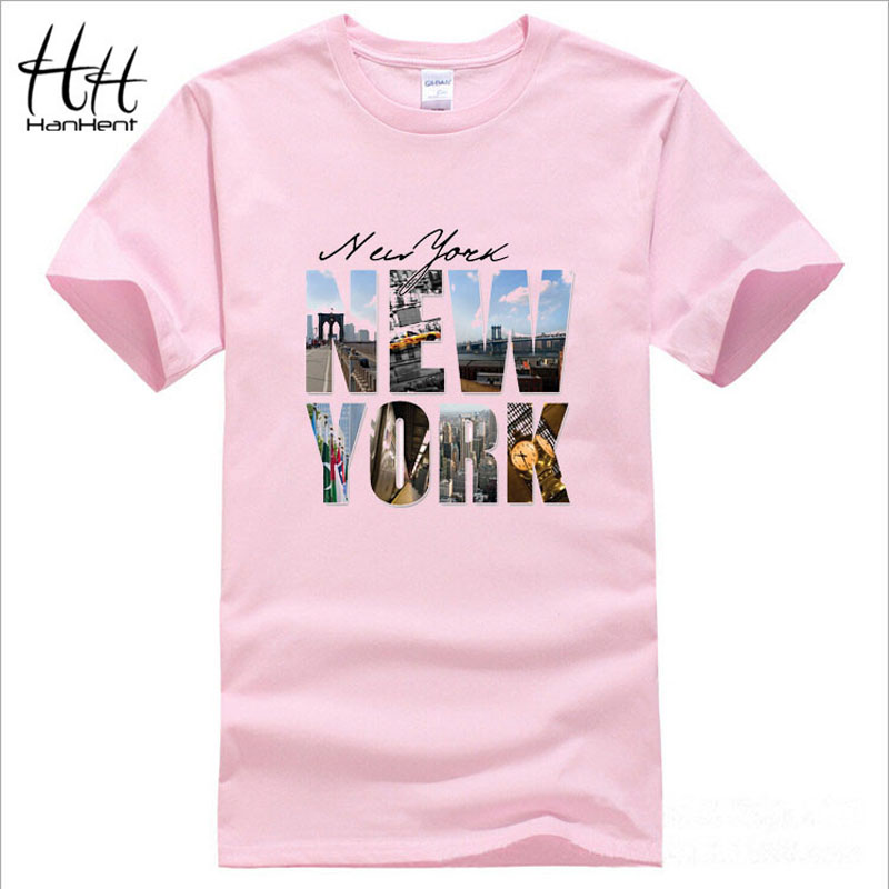 Hanhent new york printed t shirt high quality short sleeve for New york printed t shirts