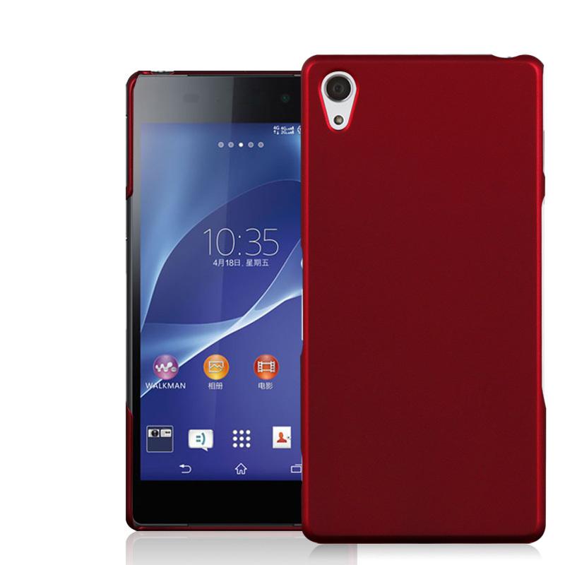 Anti-skidding UV Matte Surface Snap-on Hard Case For Sony Xperia Z2 L50W D6503 D6502 D650 C770x Mobile Phone Protective Cover(China (Mainland))