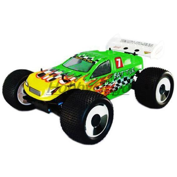 HSP #94061 -1/8th 4WD Brushless Off-Road Truggy Advance 2.4G Remote Control scale truck battery powered rc model car(China (Mainland))