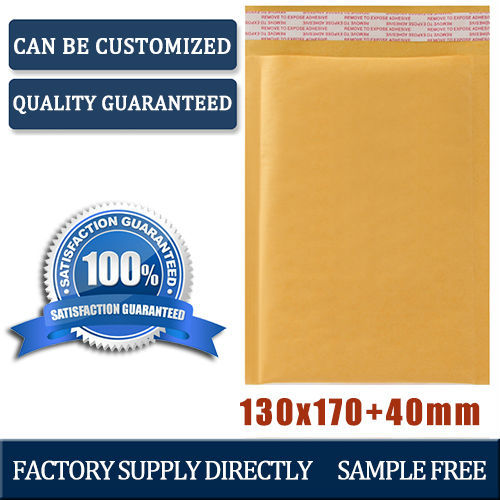 china 13 17cm wholesale bubble poly envelopes 1canton, kraft poly mailers, self-seal padded mailers(China (Mainland))