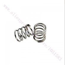 10pcs/lot 3D Printer Extruder Strong Springs OD:7mm, LD:0.8mm for Reprap Prusa Mendel 3D Printer use Free Shipping