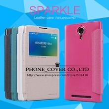 Original NILLKIN Sparkle Series Leather Case Cover For Lenovo P90 High Quality Case for Lenovo K80M 4G LTE K80 phone bag skin