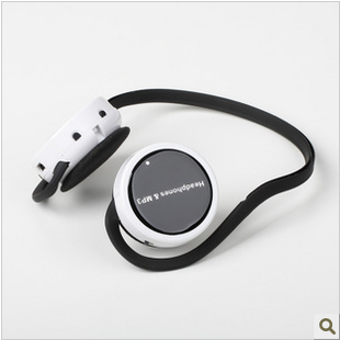 mini sport Original sports running headset mp3 player wireless earphones after -ear