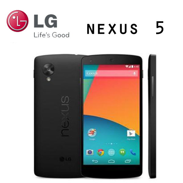 LG Nexus 5 Original Unlocked GSM 3G&4G Android WIFI GPS 4.95'' 8MP Quad-core RAM 2GB D820 / D821 16/32GB Mobile phone(China (Mainland))