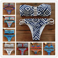 2017 Mulheres Empurrar Para Cima de impressão swimwear impresso one piece swimsuit cut out monokini bandagem maiô maillot de bain 1713