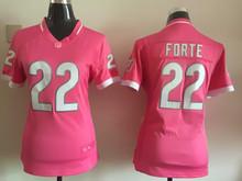 Women ladies all stitched PINK Chicago Bears # 17 Alshon Jeffery 22 Matt Forte,camouflage(China (Mainland))