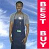 Blue Jeans Denim Bib Work Shop Kitchen Adult Apron #B
