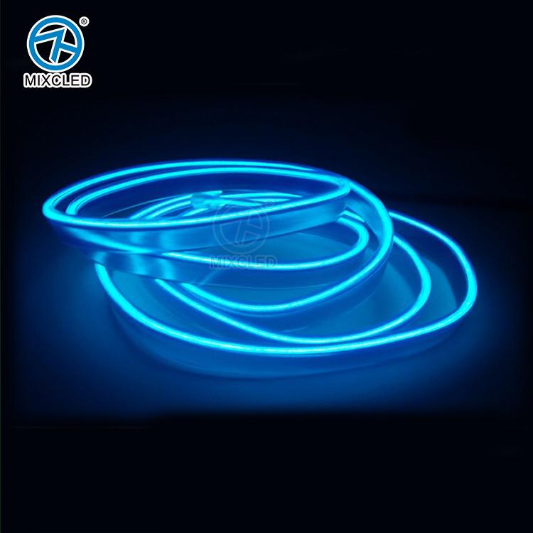 3 м EL зажим для ремня батарейках авто интерьер ремонт атмосфера света EL холодный декоративный свет с контроллером