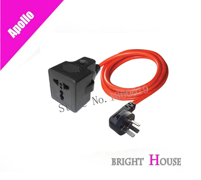 Apollo overload wear shatterproof outlet power dedicated a square line 2 meters and 3 meters(China (Mainland))