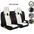 Universal car seat covers For Nissan Qashqai Note Murano March Teana Tiida Almera X trai juke