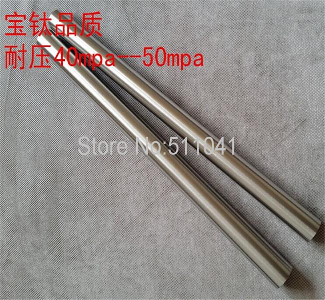 Gr2 titanium tube  ,Resistance to high pressure high temperature titanium tube, titanium thread tube35*3.5*600,black surface<br><br>Aliexpress