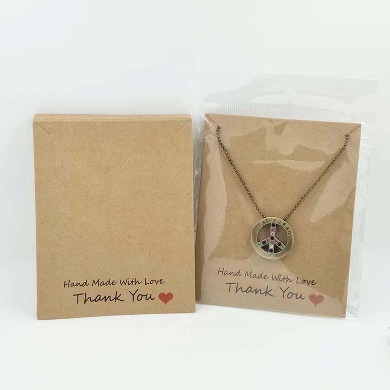 2017-New-Hot-HandMade-With-Love-Pendant-Card-10X8CM-Kraft-Pendant-Card-Necklace-Card-1lot-100 (3)