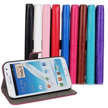 For Samsung Galaxy Note 2 N7100 Luxury FM Design PU Leather Wallet Card Slot Stand Book Flip Phone Cover Cases(China (Mainland))