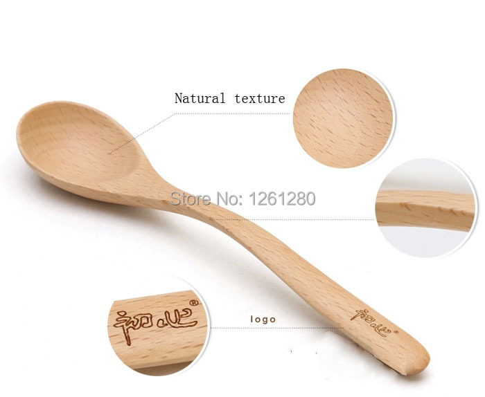 Buy free shipping dinnerware set Natural wood spoon children fork portable tableware household dry fruit dish creative snack plate cheap