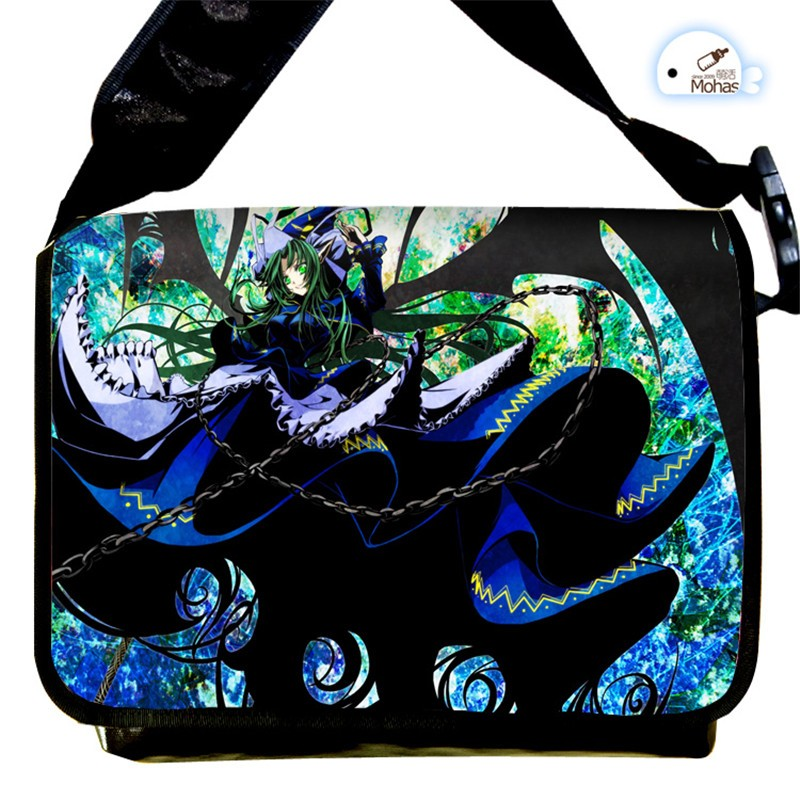 Hot Sale Touhou Project Anime Japan Cosplay Fashion Messenger Bag Casual Laptop Computer Shoulder Bag