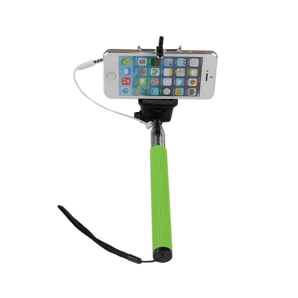 USA STOCK Stick To Selfie With Grooves Monopod Extendable Portrait Photo Tripod Handheld Holder Accessorry For iPhone Camera IOS(China (Mainland))