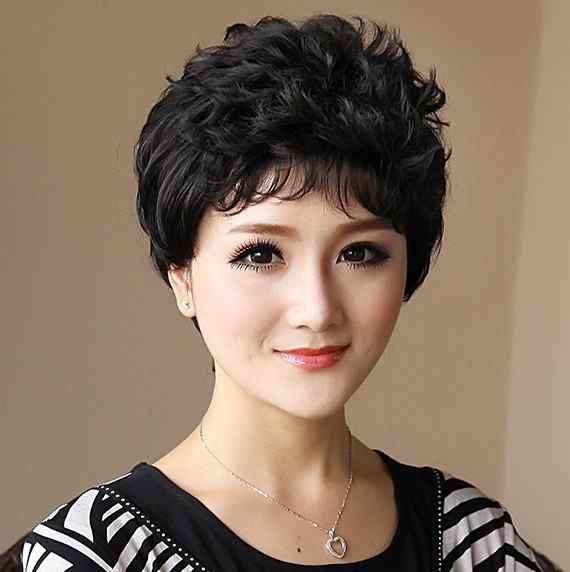 11, 3 colors, 95g, curly synthetic hair, full lcae wigs, blonde wig, wigs for older women, 1pcs<br><br>Aliexpress