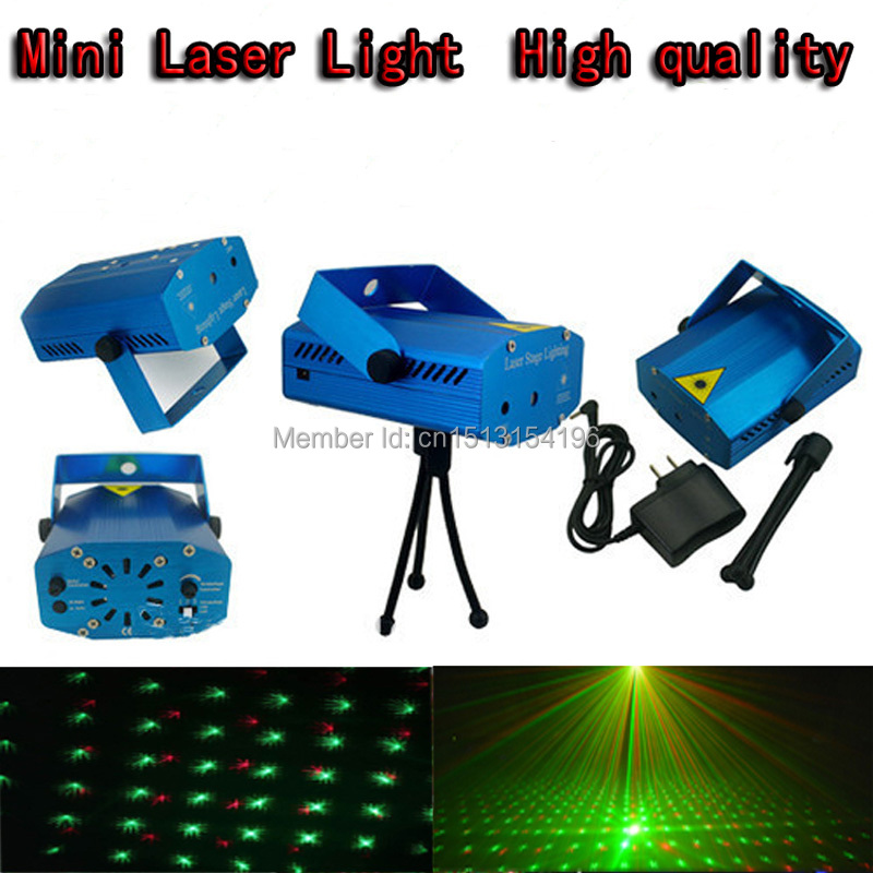 Blue and black Mini laser light with 150mW Mini Red-Green Voice-activated  for Christmas holiday light dj stage light <br><br>Aliexpress