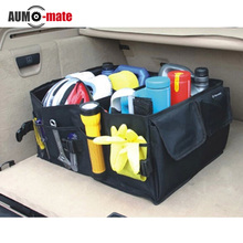Folding Car storage Box  Trunk Bag Vehicle Toolbox  Multi-use Tools Organizer  the bag in the trunk of cars for car styling(China (Mainland))