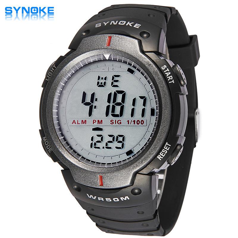 2016 Hot Sale Rain Waterproof Children Boy Digital LED Watches for Men Alarm Date Mutifunction Sports Watch as Gift(China (Mainland))