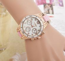 Moda de cerámica relojes mujeres reloj de señora vestido en estilo casual 2015 nuevo reloj de pulsera relojes de cuarzo mujeres de